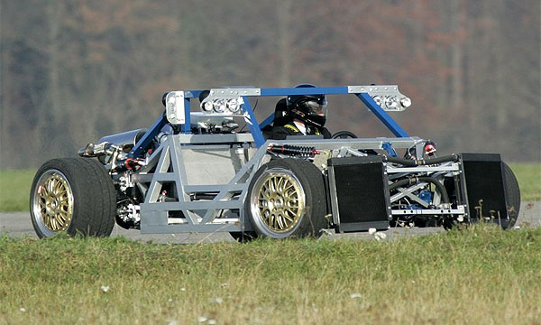 Mercedes разрабатывает мини-McLaren