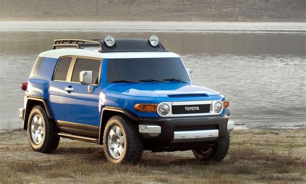 Toyota отзывает внедорожники FJ Cruiser из-за опасности возгорания