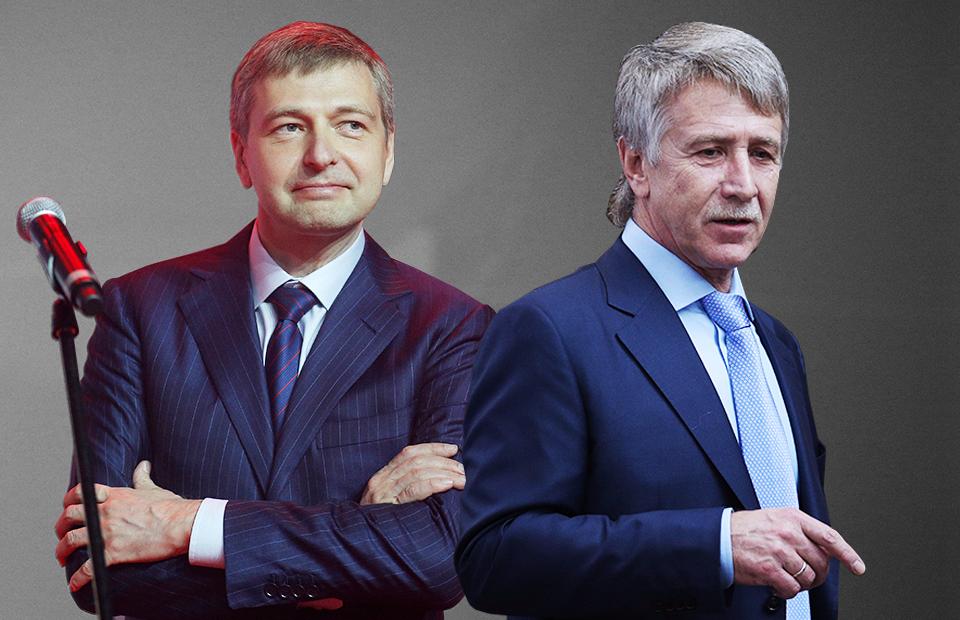 Дмитрий Рыболовлев и Леонид Михельсон