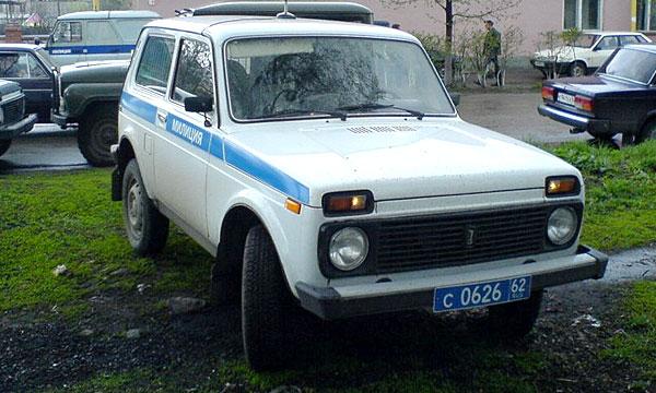 ВАЗ выпустил внедорожники для сельских милиционеров