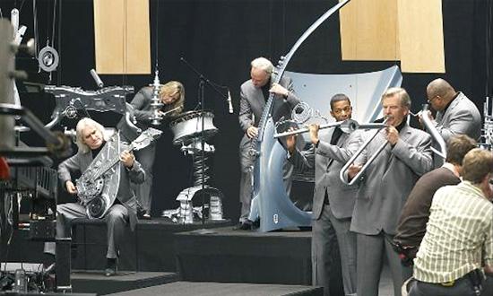 Ford создал симфонический оркестр из запчастей