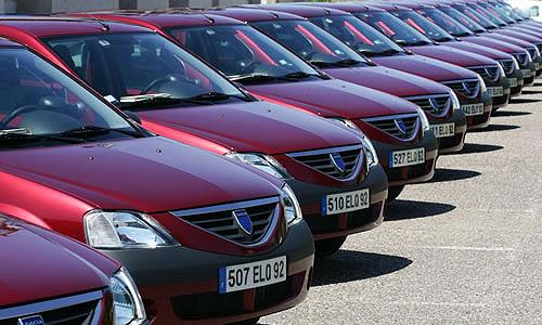 По Румынии ездят автомобили-близнецы