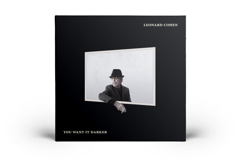 Обложка нового альбомаЛеонарда Коэна  «You Want It Darker»
