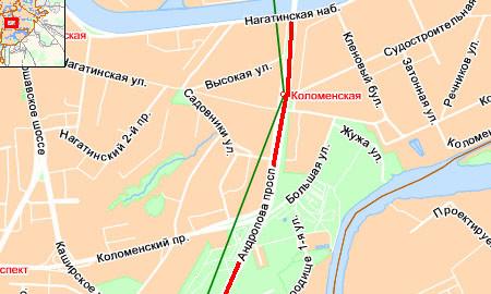 Пробка на проспекте Андропова