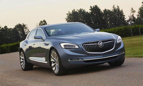 Buick показал концепт флагманского седана