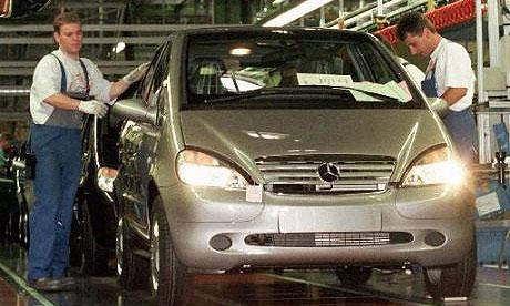 DaimlerChrysler уточняет информацию о сокращениях в Mercedes