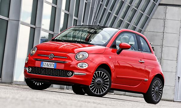 Fiat 500 после рестайлинга получил светодиодные ходовые огни