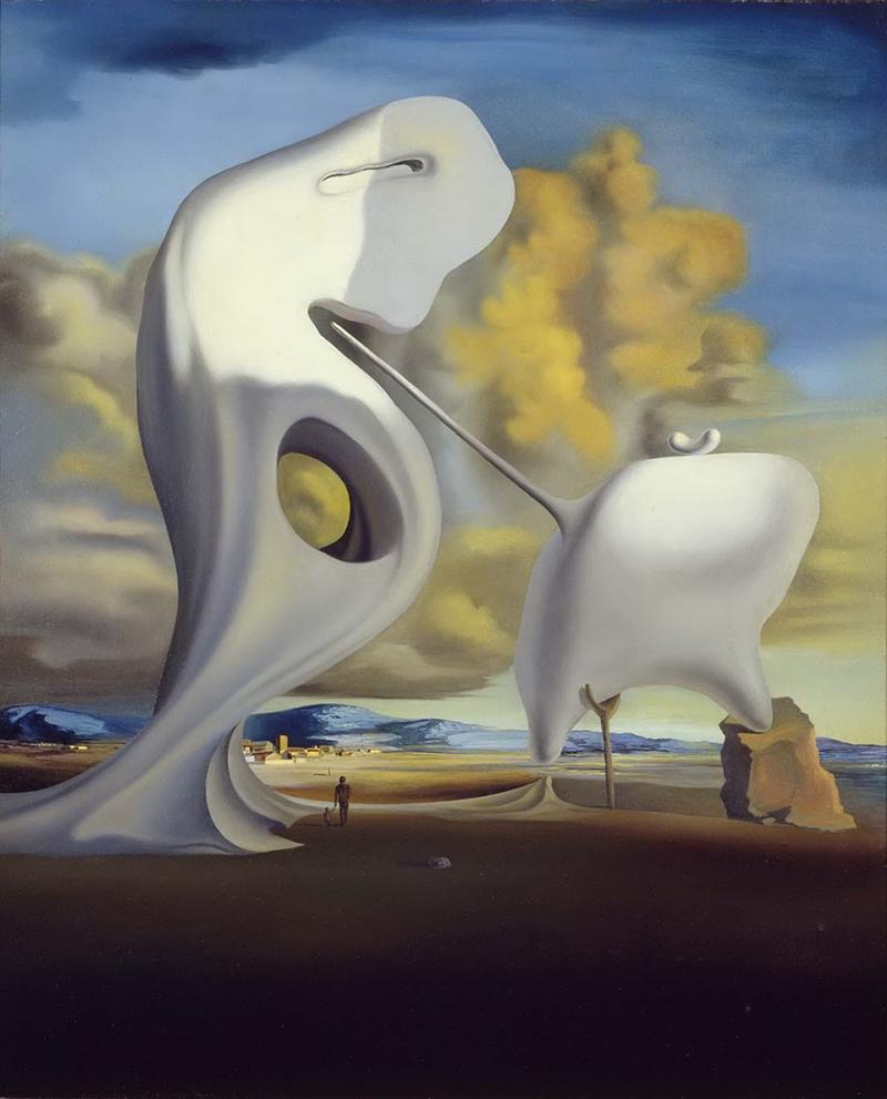 """Сальвадор Дали, «Архитектонический """"Анжелюс"""" Милле», 1933"""