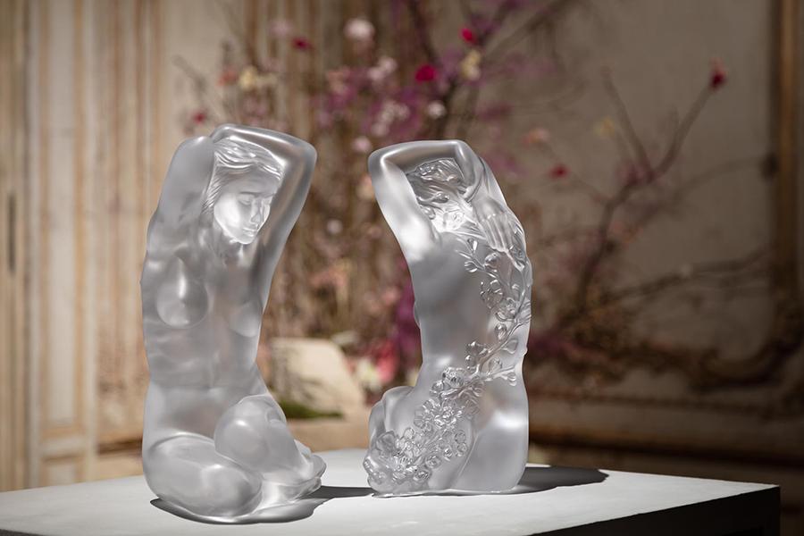 Скульптура «Флора», прозрачный хрусталь, 39см, 99 экземпляров, 3090000 руб., Lalique