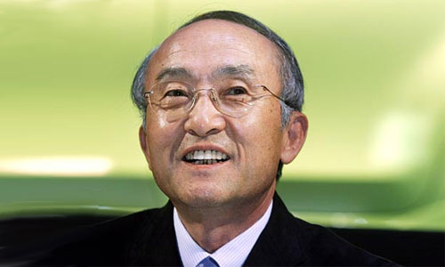 Президент компании Toyota Кацуаки Ватанабе