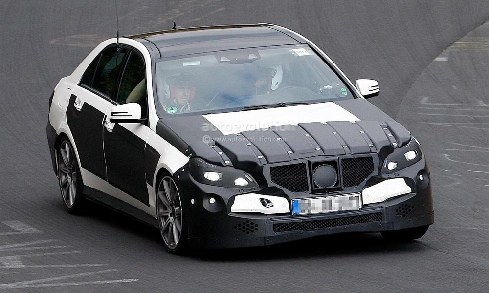 Новый Mercedes-Benz E63 AMG заметили на Нюрбургринге