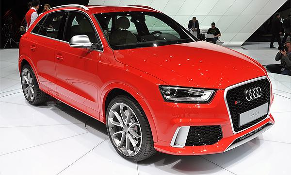 Audi объявила о старте продаж RS Q3