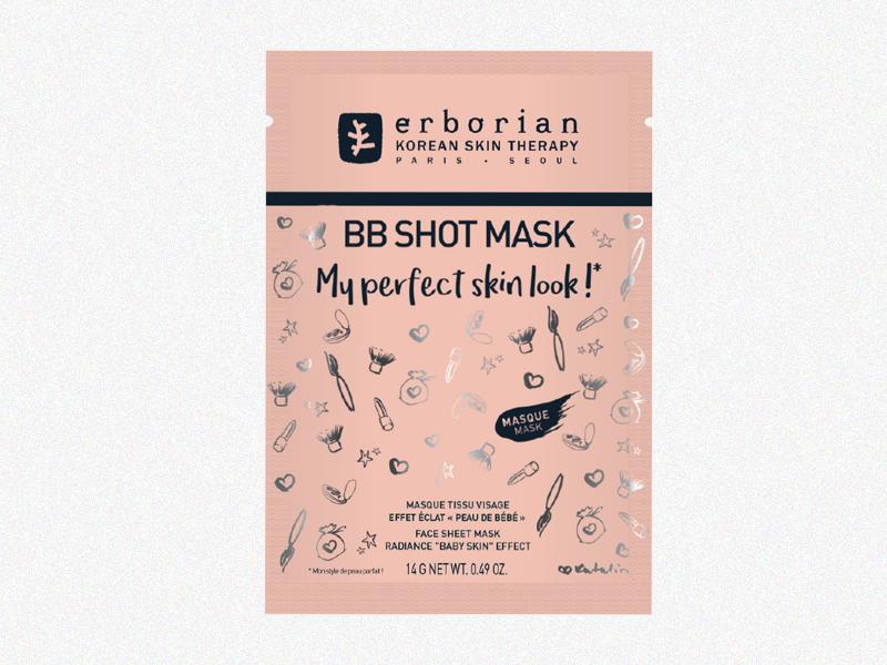 Маска для совершенного тона «BB Shot», Erborian