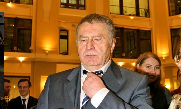 Владимир Жириновский попал в ДТП