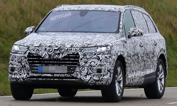 Новое поколение Audi Q7 получит матричную оптику