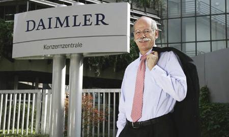 Дитер Цетше будет возглавлять Daimler еще четыре года