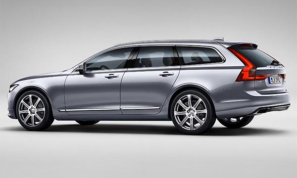 Новый универсал Volvo V90 рассекретили до премьеры