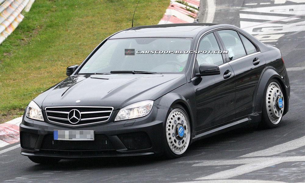 Mercedes-Benz готовит самый быстрый С-класс