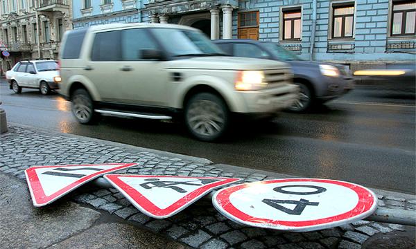 На обновление дорожных знаков потратят 190 миллионов рублей