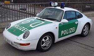 Немецкая полиция получила Porsche