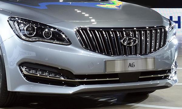 Новый премиальный седан Hyundai дебютировал в Южной Корее