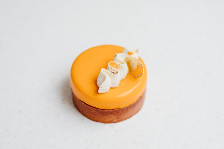Тарталетка со вкусом чизкейка и облепихи