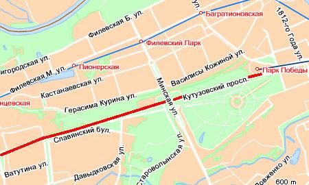 Движение на Кутузовском замерло