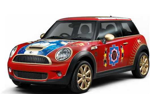 MINI представляет автомобиль в стиле Джорджа Харрисона
