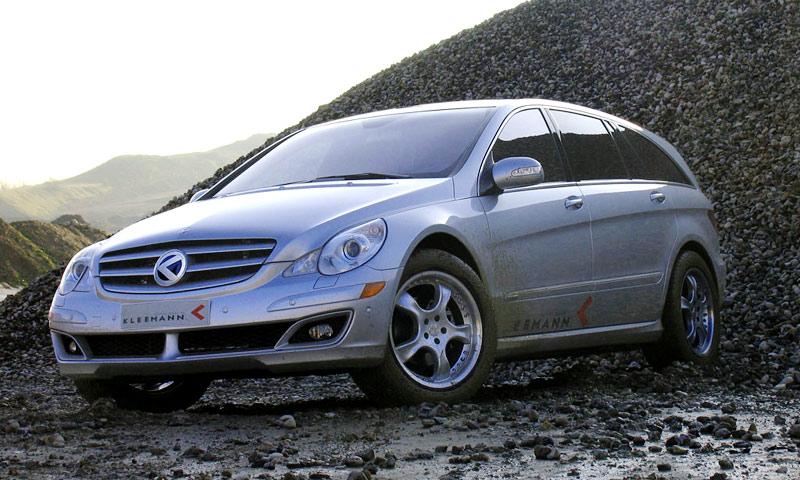 Mercedes-Benz R-класса зарядили для выстрела
