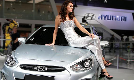 Hyundai создаст машину для российских женщин