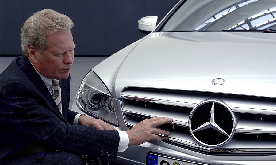 Петер Пфайффер – шеф-дизайнер Mercedes-Benz, проработавший в немецком концерне более 40 лет