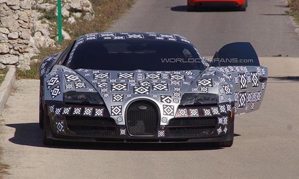 Bugatti Chiron получит 1500-сильный мотор