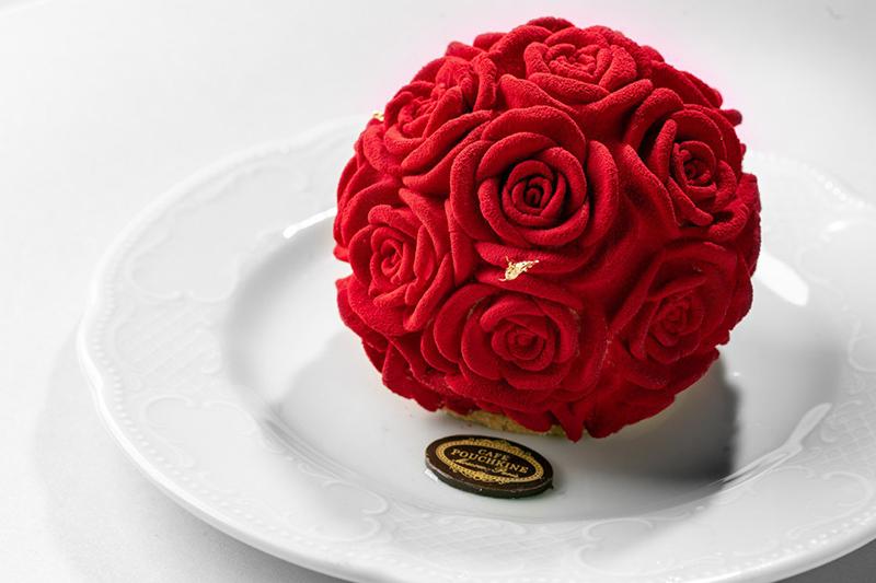 Десерт «Тайны Лувра»