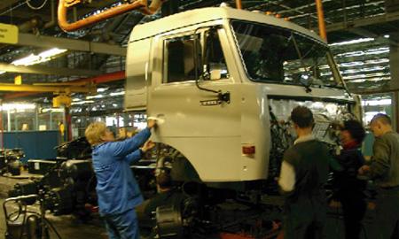 КамАЗ останавливает конвейер на неопределенный срок