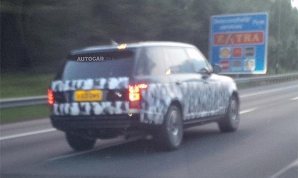 Длиннобазный Range Rover представят к концу года