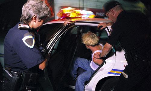 Грабители и полицейские встретились в такси