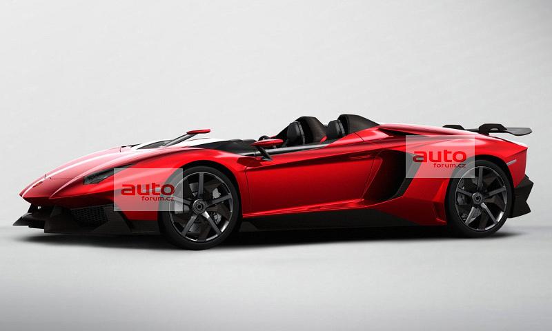 В интернет просочились фото суперкара Lamborghini Aventador J