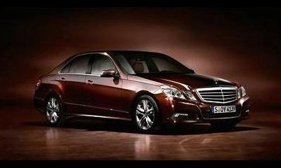 Опубликованы первые официальные фото Mercedes-Benz E-Class 2010