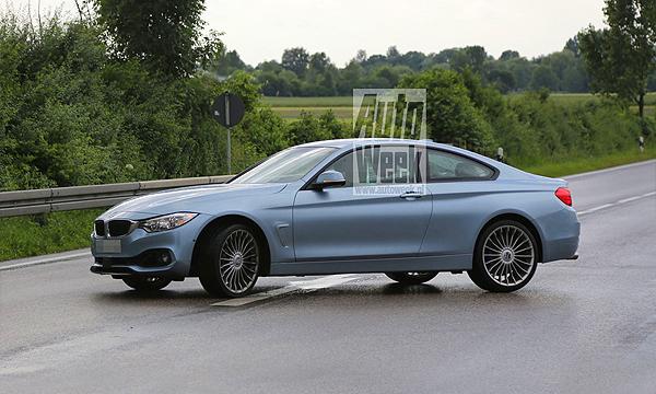 Alpina приступила к тестам новой BMW 4-Series