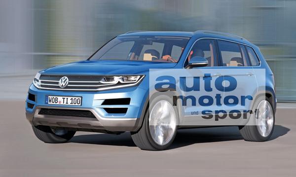 Новый Volkswagen Tiguan получит 3 модификации