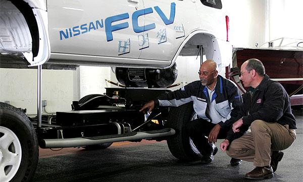 Nissan начал тестировать водородный X-Trail