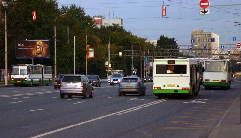 В 2011 году Москва получит 68 км выделенных полос