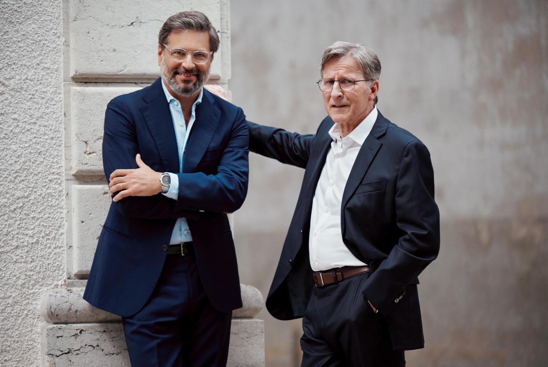 Генеральный директор Гвидо Террени и основатель Parmigiani FleurierМишель Пармиджани