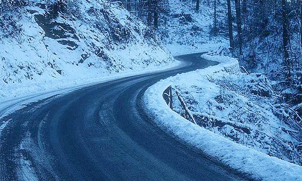 Гололед вызвал серию ДТП в Швейцарии