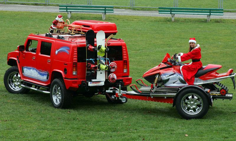 Санта-Клаус продался ради Hummer H2 от GeigerCars