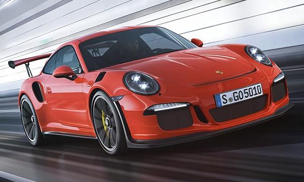 Porsche привезла в Женеву «заряженный» 911 GT3