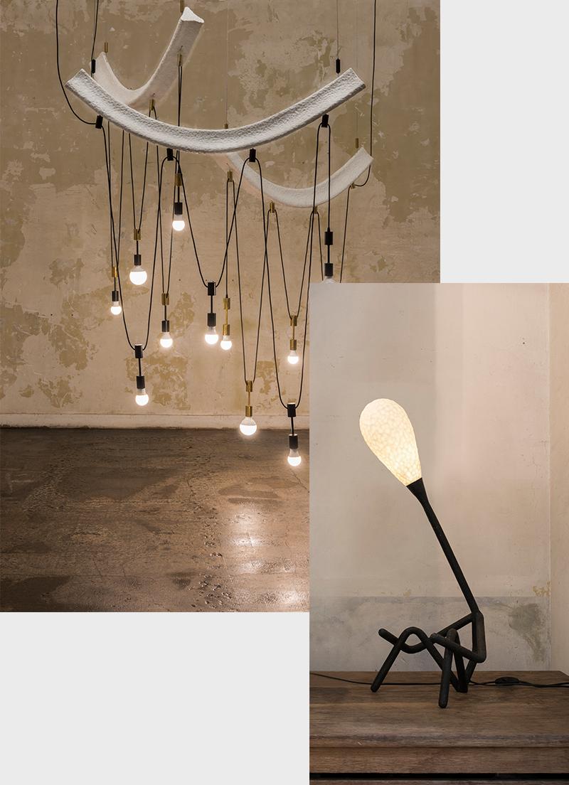 Потолочный светильник Memories of the cáfe «Palais Royal»; напольный светильник Emotions
