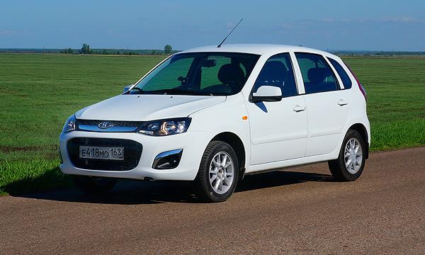 Продажи Lada Kalina 2 начали раньше срока