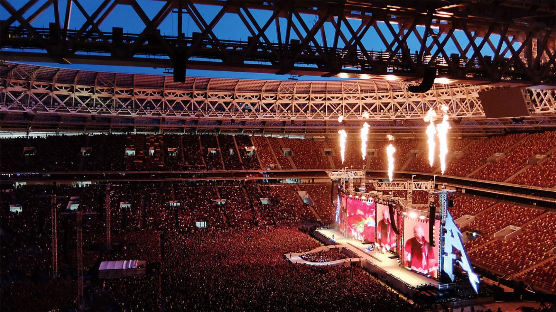 Выступление Metallica на Большой спортивной арене, 21 июля