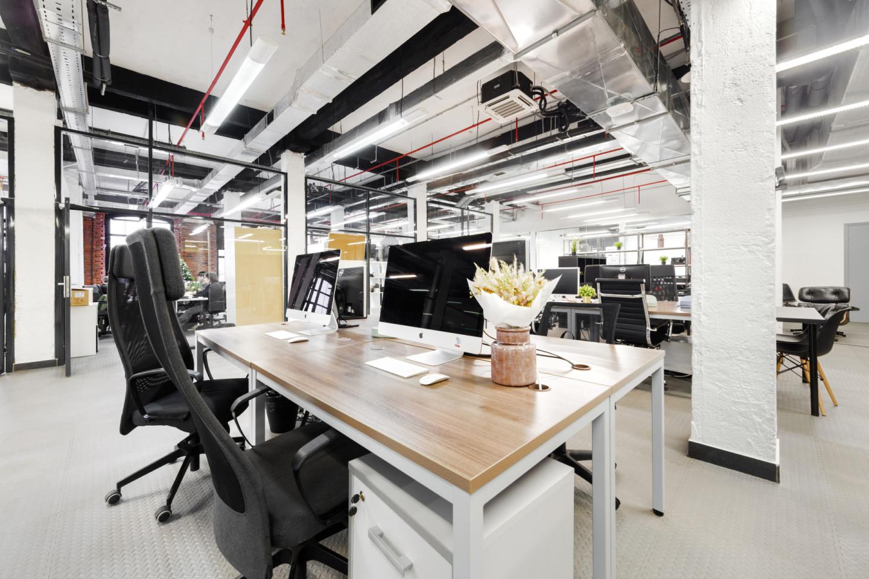 Офис в «Ключе», расположенном в БЦ «Даниловская мануфактура» (Варшавское ш., 9с1Б)